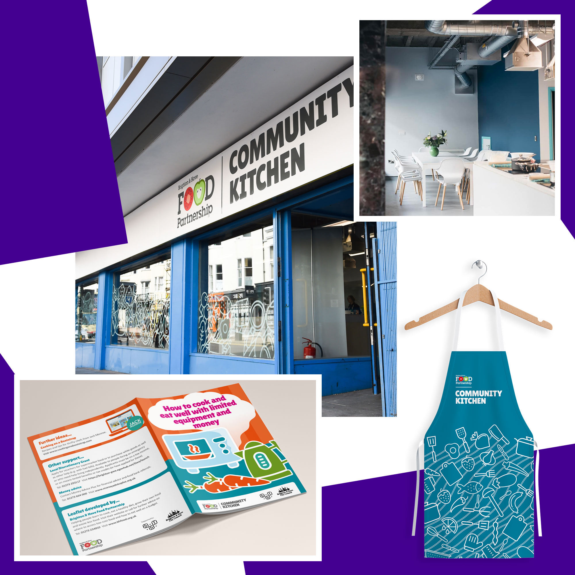Branding Design, Interiors, Window Cling Design
